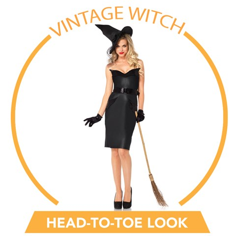 Vintage Witch Head-to-Toe Look