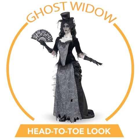 Ghost Town Black Widow Head-to-Toe Look