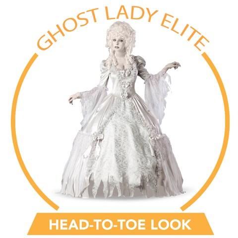 Ghost Lady Elite Head-to-Toe Look