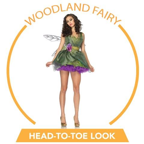 Woodland Fairy Head-to-Toe Look