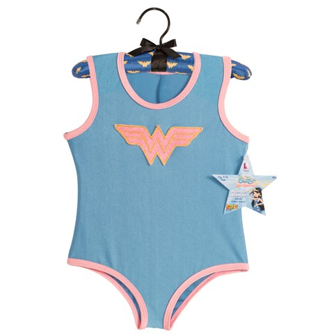 Wonder Woman - Leotard with Puff Hanger Child