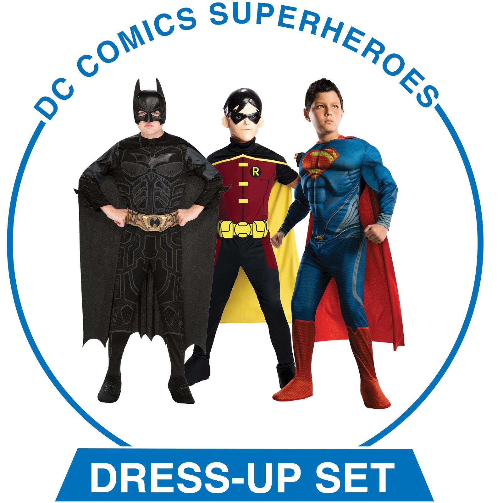 DC Comics Superheroes Dress-Up Set - Boys
