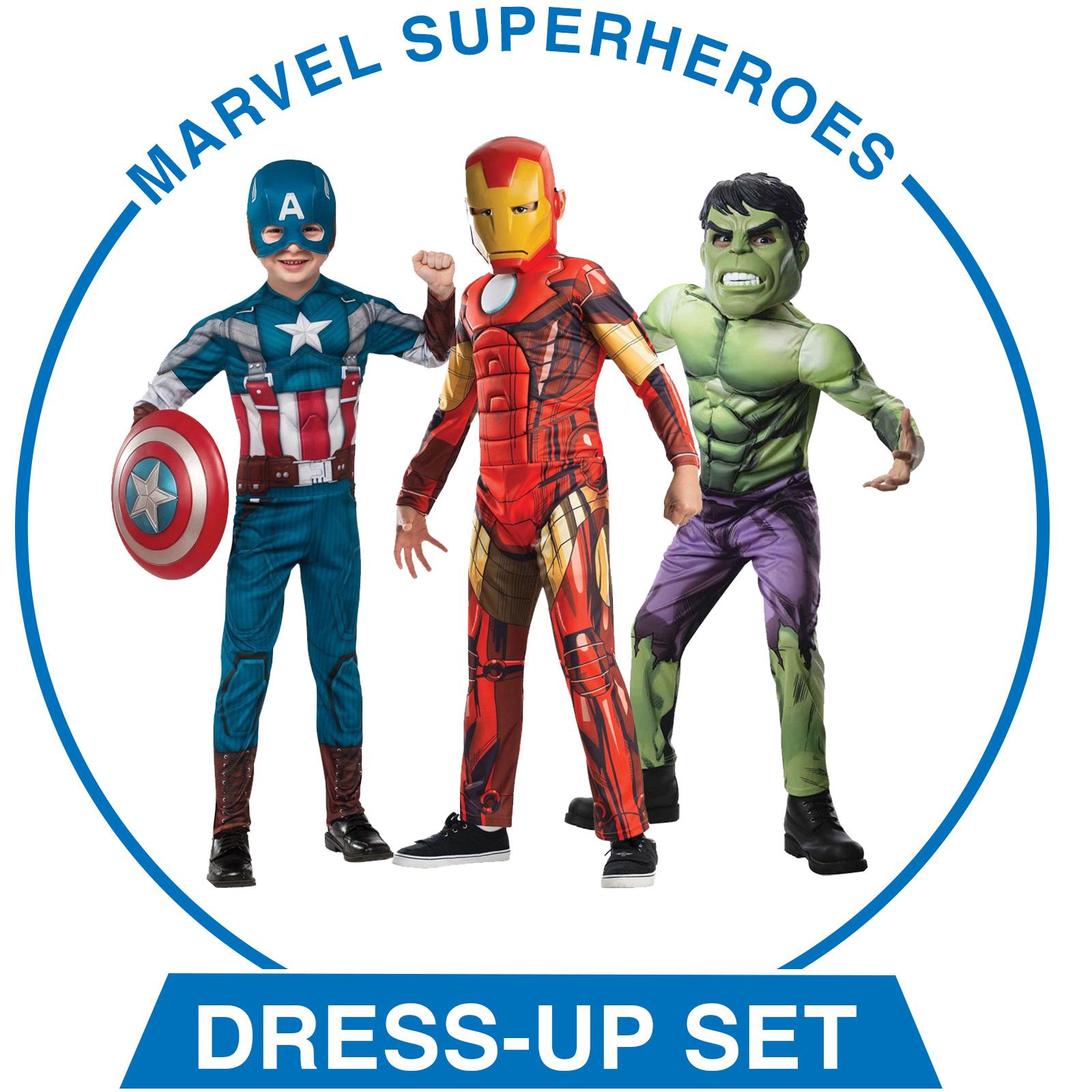 Marvel Superheroes Dress-Up Set - Boys