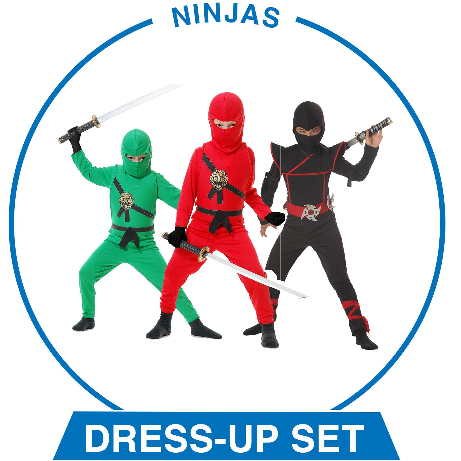 Ninjas Dress-Up Set - Boys