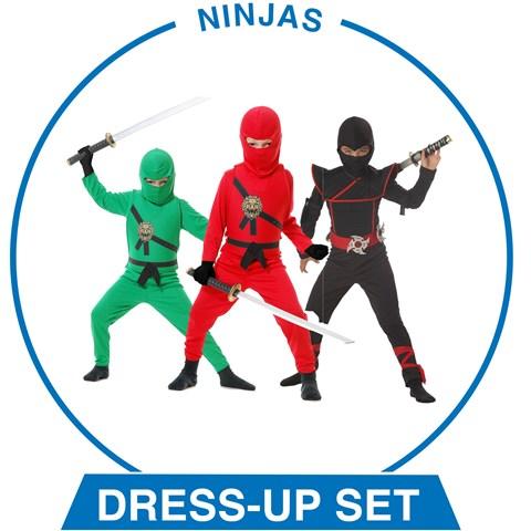 Boys Ninjas Dress-up Set