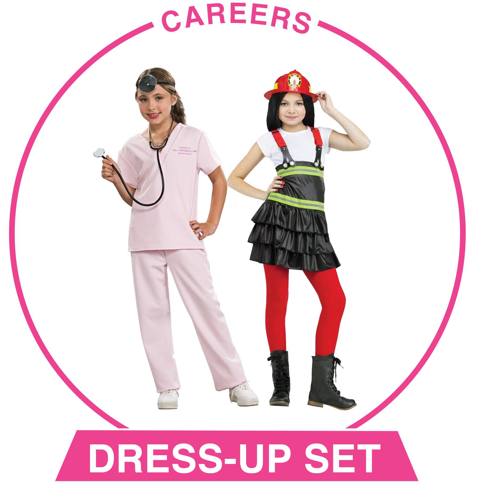 Careers Dress-Up Set - Girls