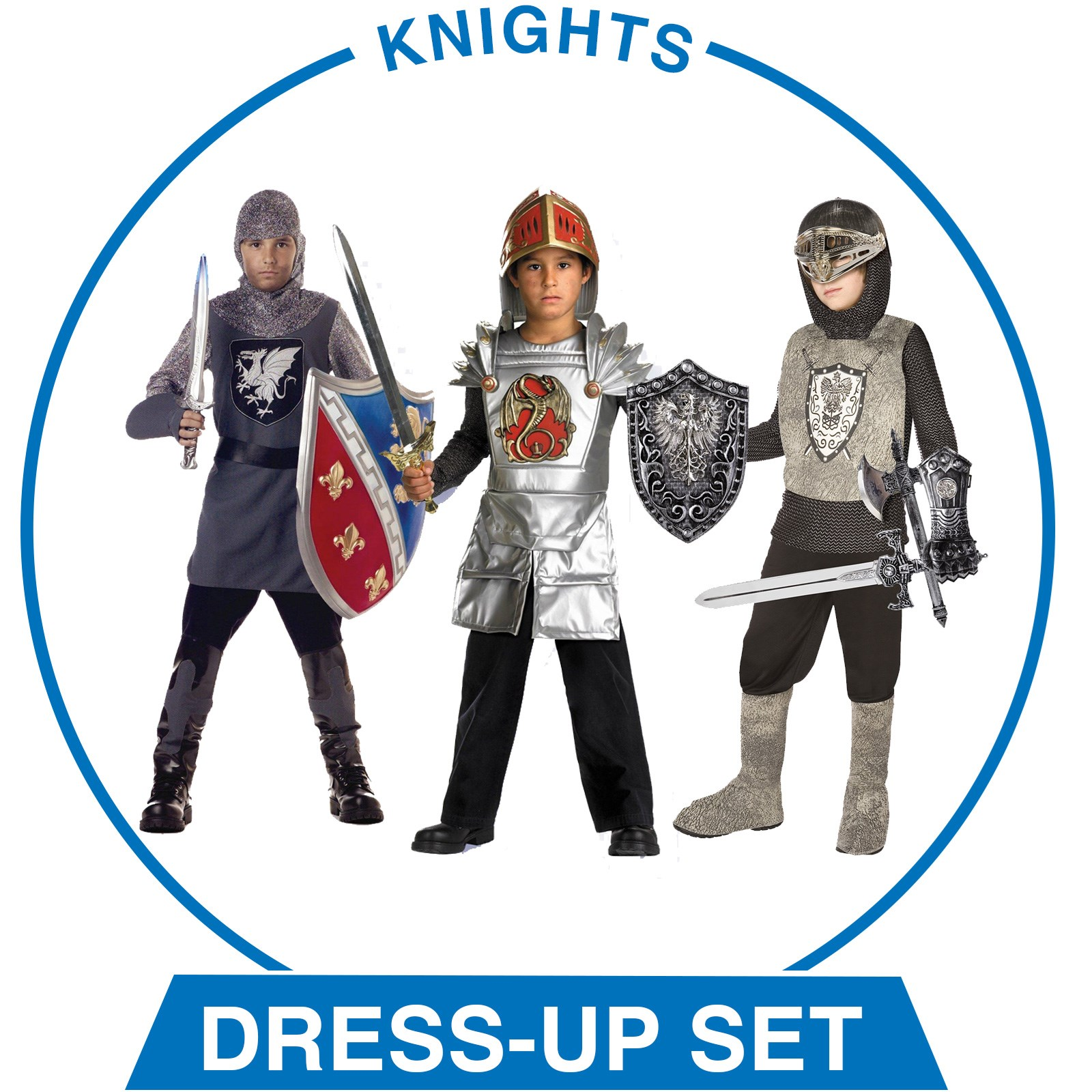 Boys Knights Dress-up Set