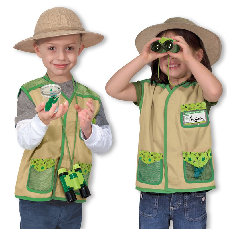 Melissa Doug Backyard Explorer Dress Up Set for the 2015 Costume season.