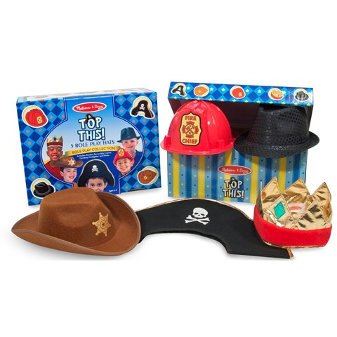 Melissa & Doug Dress-Up Hats (5)