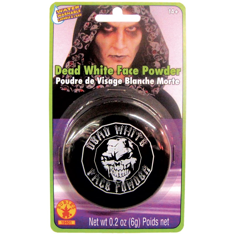 White Face Powder Compact for the 2015 Costume season.