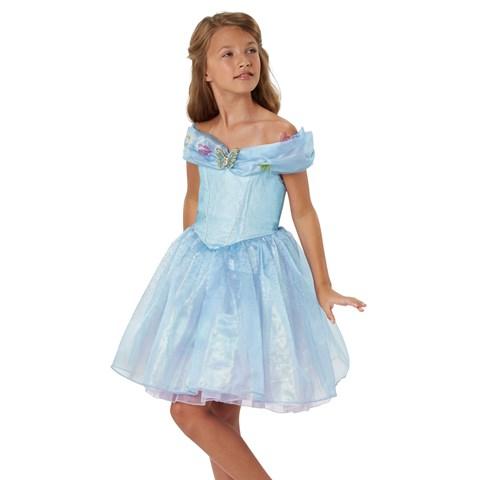 Disney Cinderella Movie: Blue Ella Dress
