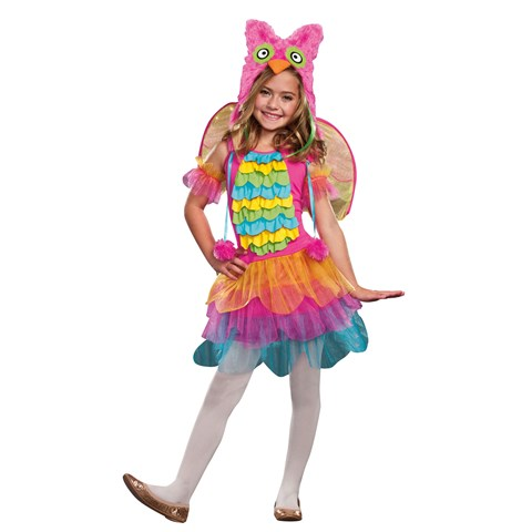 Precious Lil' Owl Costume for Kids