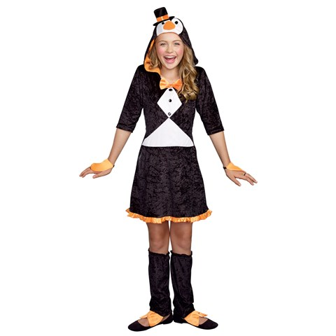 Girls Pretty Lil' Penguin Costume