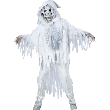 Ghost Boy - Costume For Kids