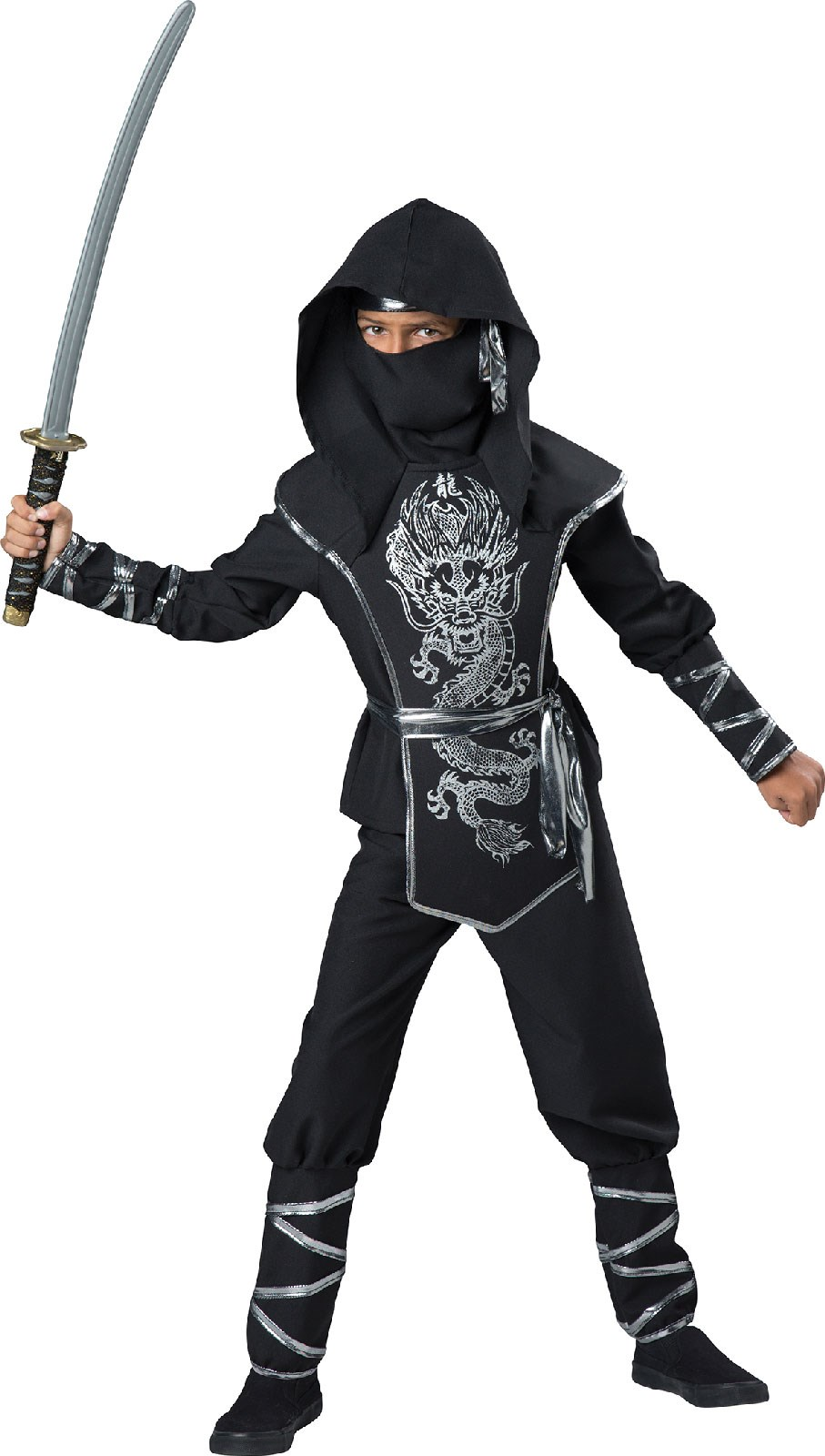 how to make a ninja costume for kids