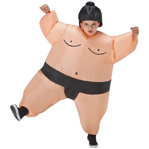 Kids Sumo Inflatable Costume