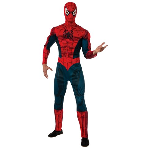 Deluxe Adult Spider-Man Costume