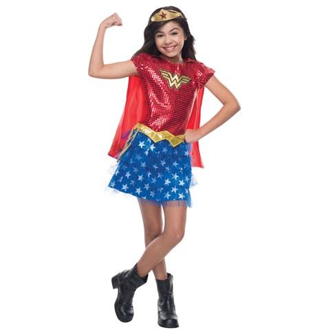 Sequin Wonder Woman Toddler Costume