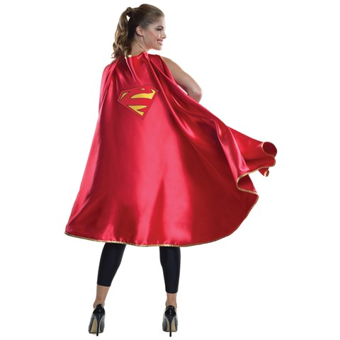 Womens Deluxe Supergirl Cape