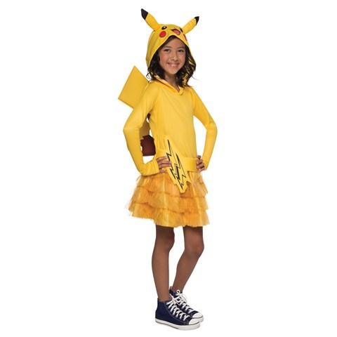Pokemon: Girls Pikachu Hoodie Dress