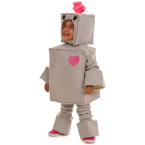 Toddlers Rosalie the Robot Costume