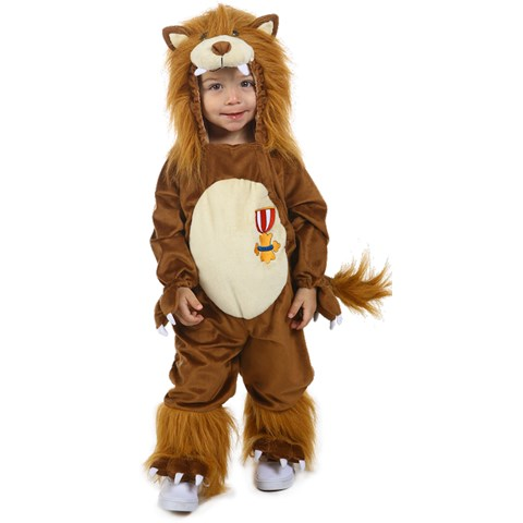 The Wizard of Oz Cowardly Lion Kids Costume