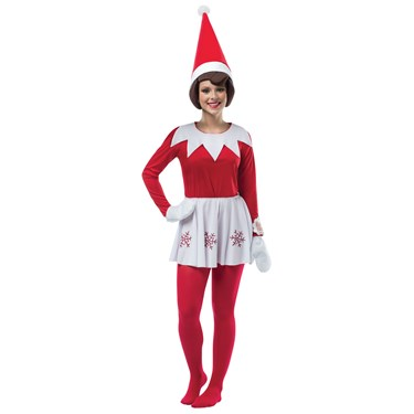 Elf on the Shelf Dress Costume For Women