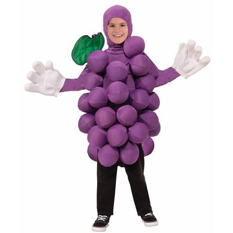 Childrens Purple Grapes Costume