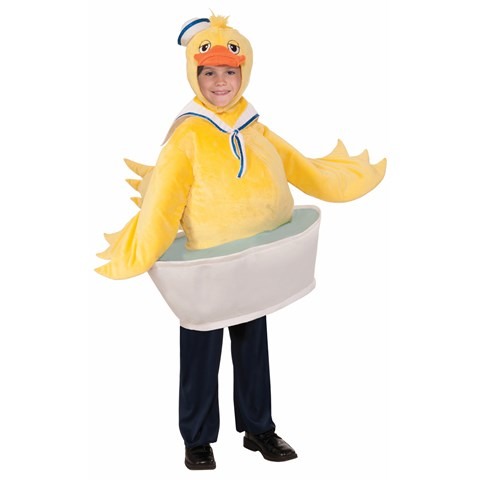 Rubber Ducky Costume for Boys