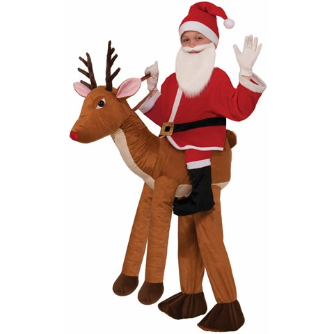 Childrens Ride on a Reindeer Costume