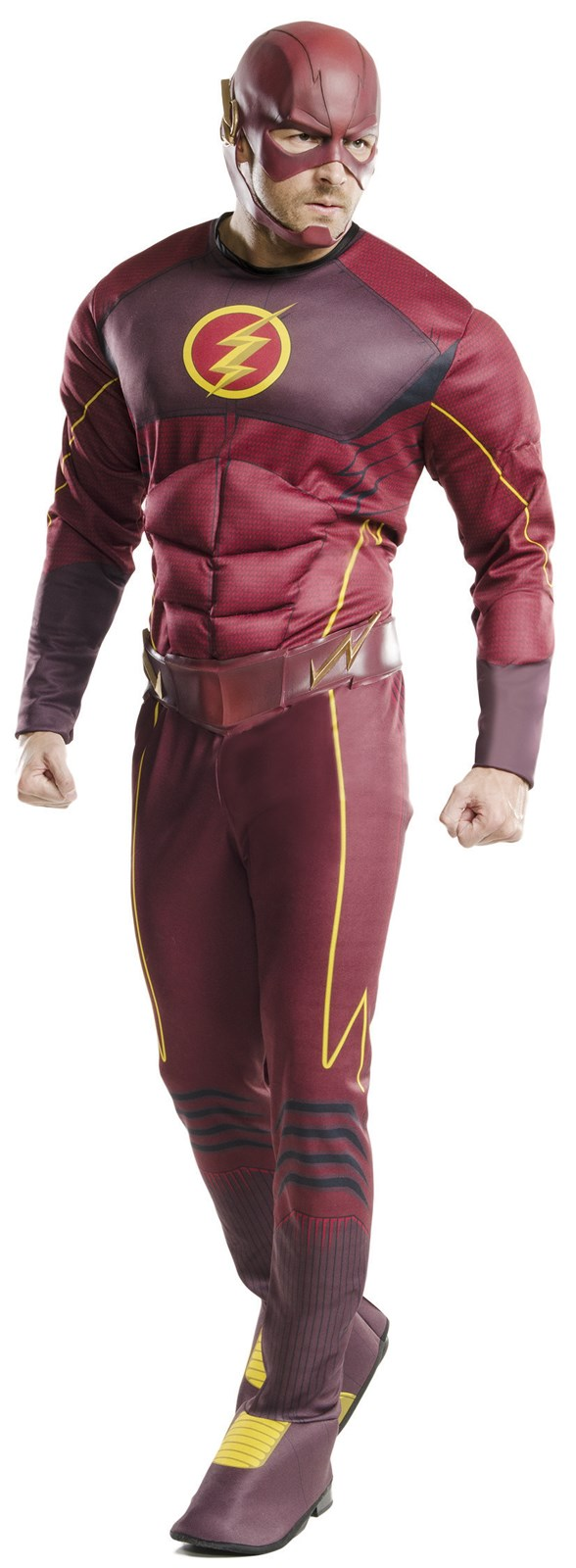The Flash Muscle Chest Costume For Adults