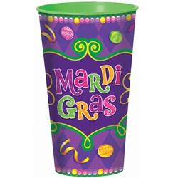 Mardi Gras - 28 oz. Cup