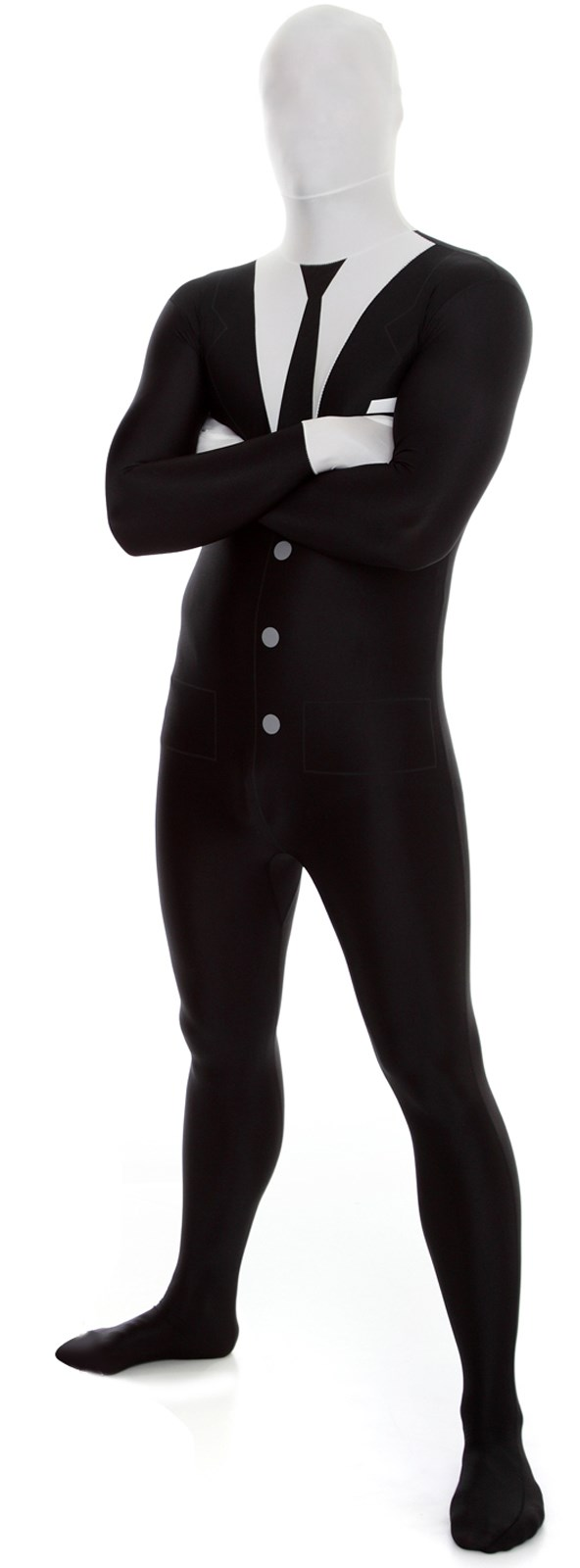 Invisible Man Adult Morphsuit