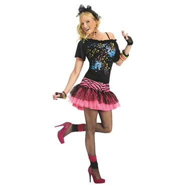 80s Pop Party Adult Costume