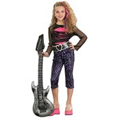 80s Rock Star Child Costume