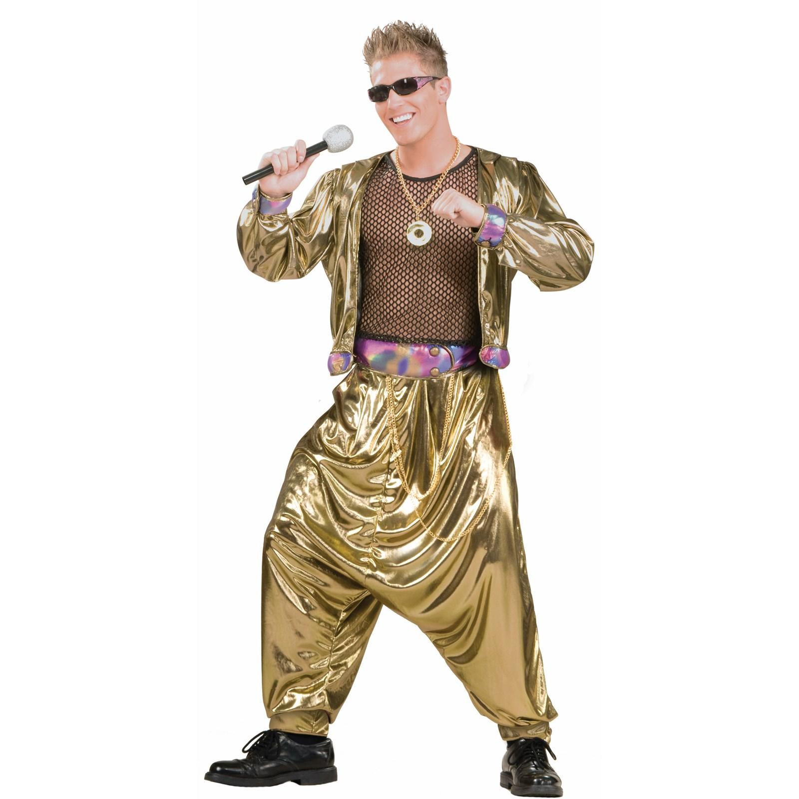 80s Video Super Star Adult Costume   BuyCostumes.com