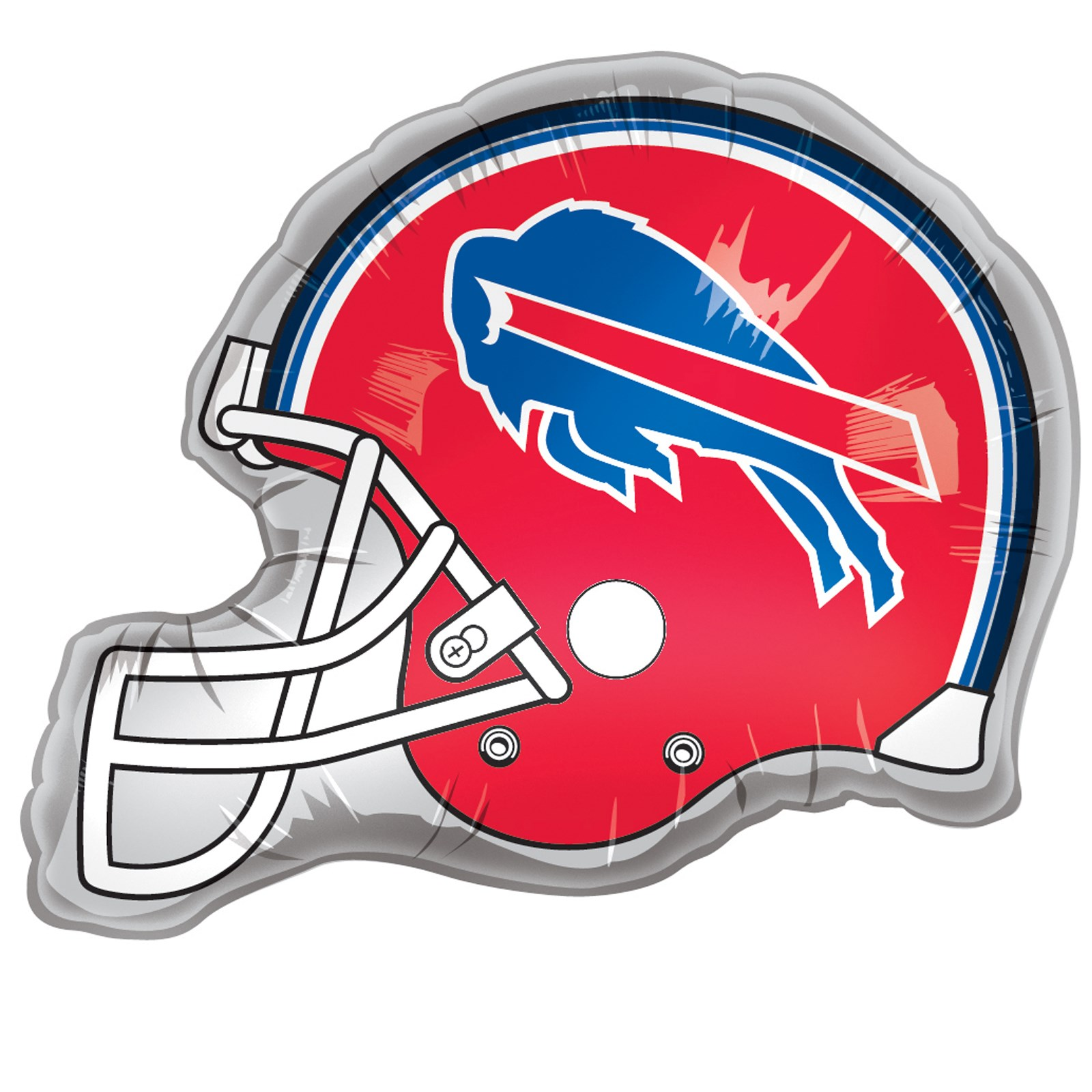 buffalo bills helmet jumbo 26 foil balloon