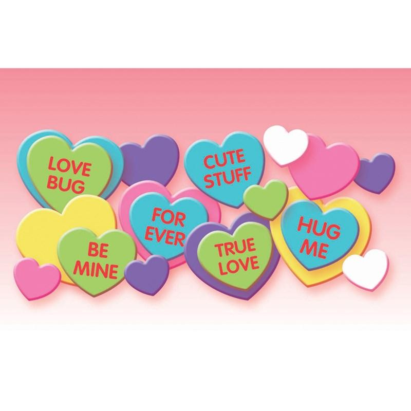 Candy Foam Heart Sticker Kit for the 2015 Costume season.