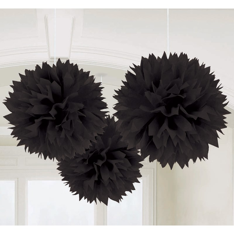 Black Fluffy Decorations for the 2015 Costume season.
