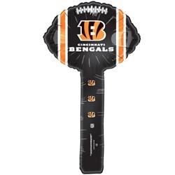 Cincinnati Bengals - Foil Hammer Balloons (8 count)