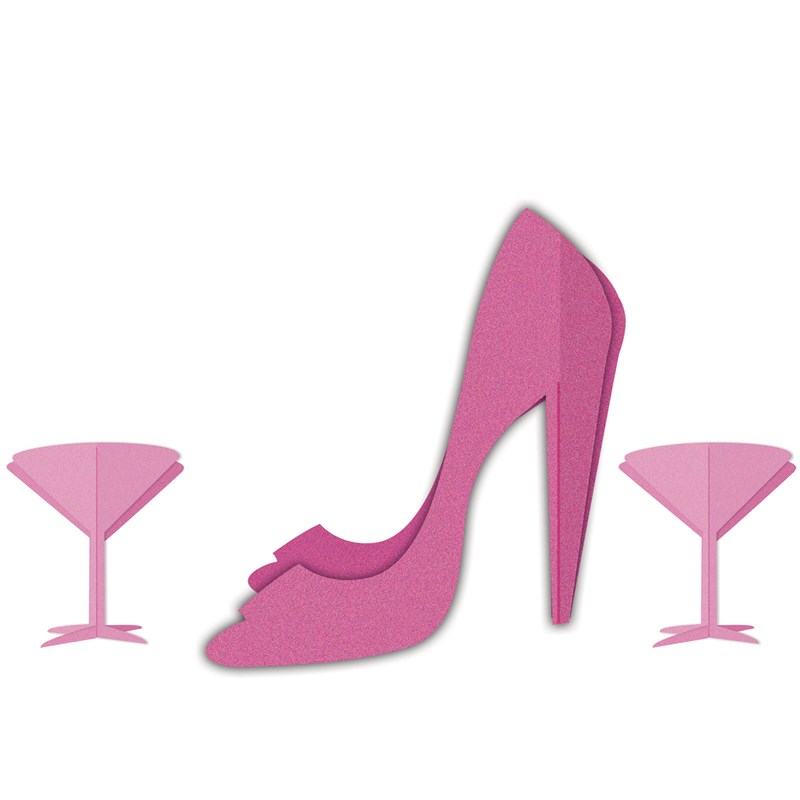 Bachelorette Party   Martini and Heels 3D Centerpiece for the 2015 Costume season.