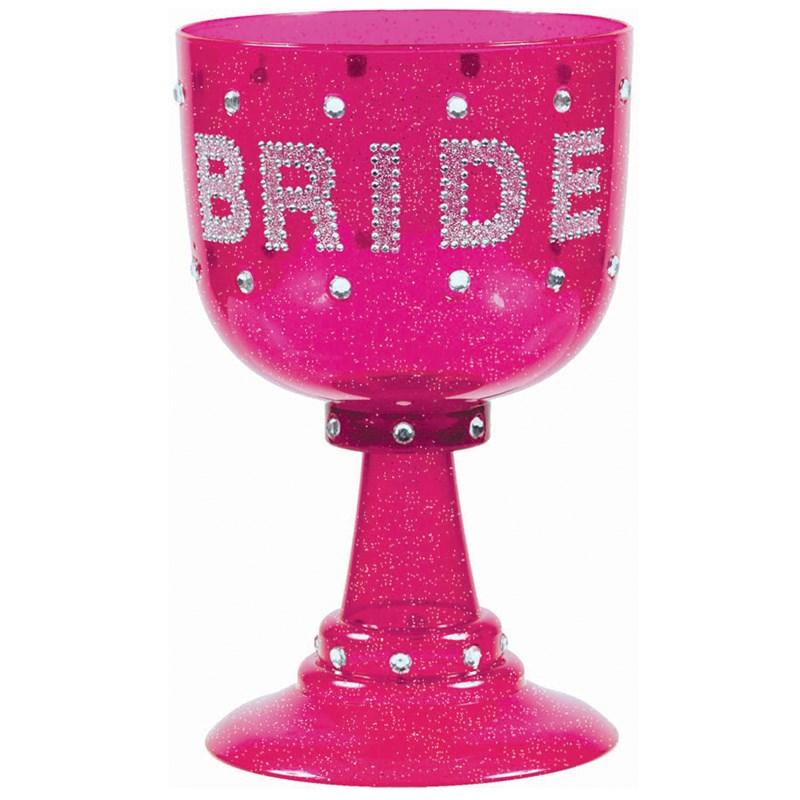 Bachelorette Hot Pink Bride Goblet for the 2015 Costume season.