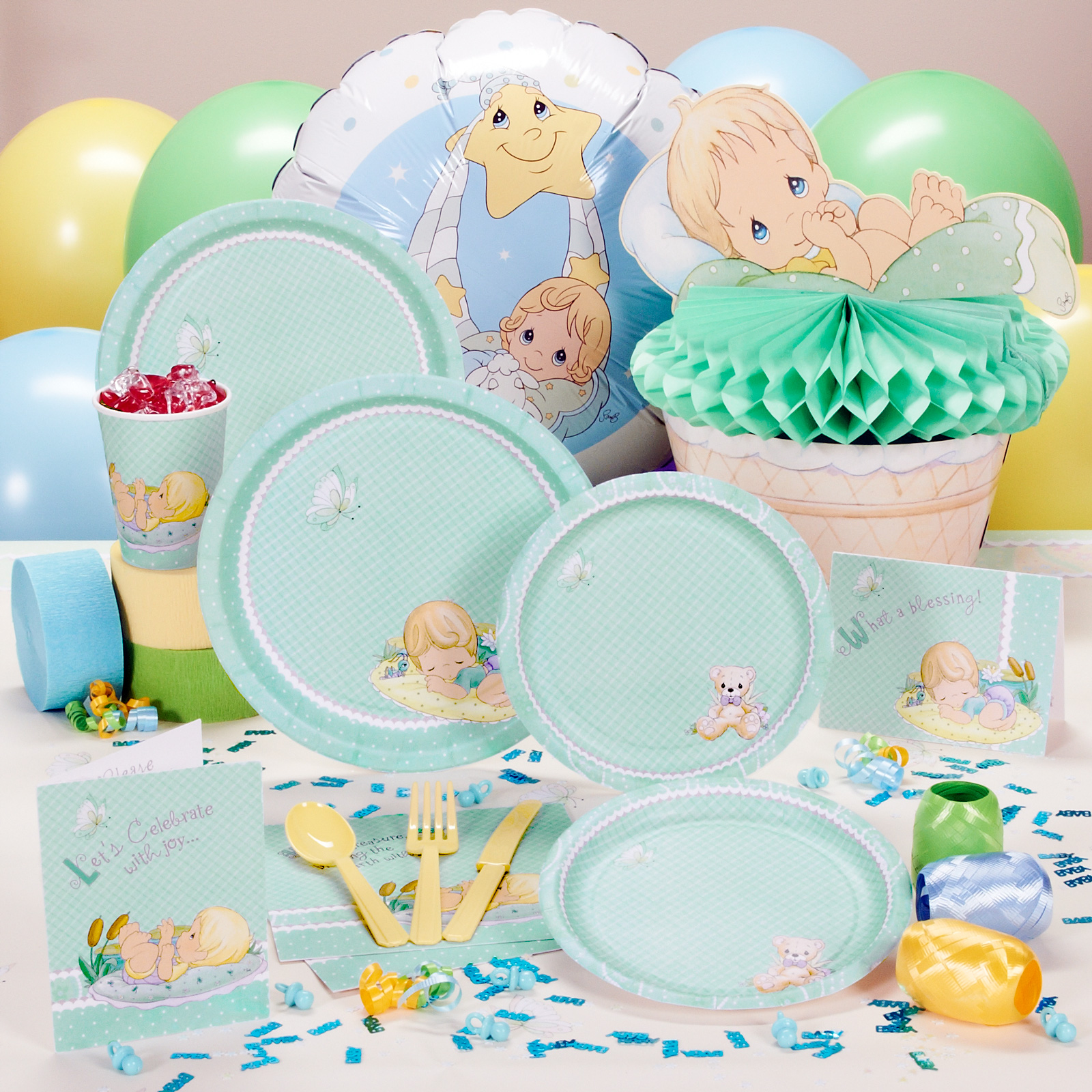 Pin Precious Moments Baby Shower Cake Pic 19 On Pinterest