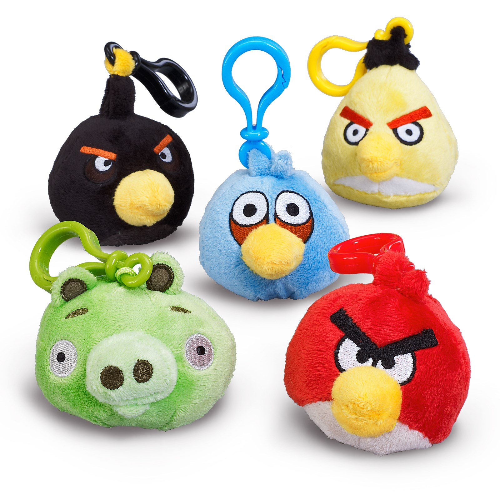 Angry Birds Backpack Clip On