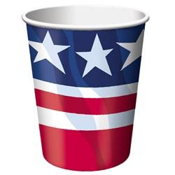 Patriotism - 9 oz. Cup (8 count)