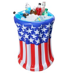 Patriotic Inflatable Cooler