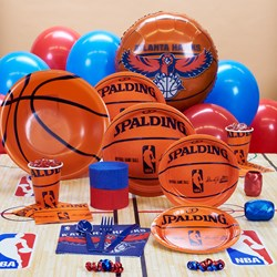 Atlanta Hawks NBA Basketball Deluxe Party Kit