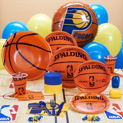 Indiana Pacers NBA Basketball Deluxe Party Kit