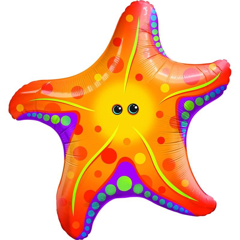 Super Sea Star Jumbo Foil Balloon for the 2015 Costume season.