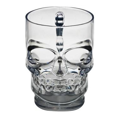 Clear Skull Mug